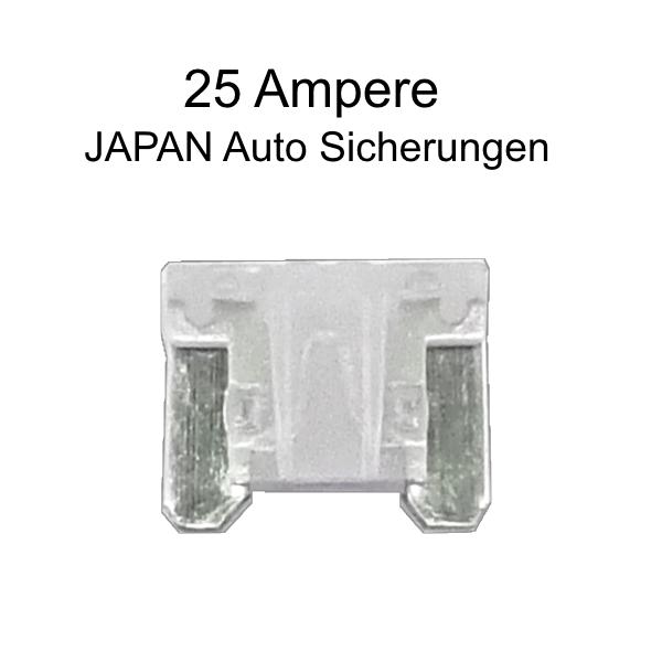 100x PKW Sicherungen Mini 20A für Japan PKW Kfz Stecksicherungen Autoelektrik